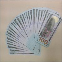 Wholesale Thermal Sheets Wholesalers - High Quality USA $100 Practicing Props Paper Money Collection Bank Training Learning Banknotes Teaching Money Children Gift 50Pcs