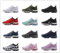 Wholesale Cheap Plus Size Shoes - 2017 Men Women Casual Shoes Airs Cushion TN Plus Cheap Sale Running Shoes Original Top Quality Outdoor Sneakers Free Shipping Size 5.5-12