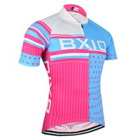 BXIO Brand Cycling Tops Cycle Vêtements Femme Pink Floyd Mode Sport Cyclisme Maillots à manches courtes Été Cool Bicycle Clothes BX-013-J