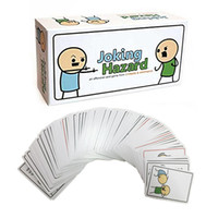 adult trade with best reviews - Joking Hazard Party Game Funny Games For Adults With Retail Box Comic Strips Card Games New Speak Out 2107208