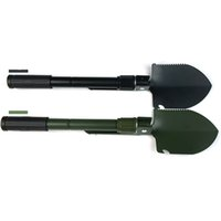 Wholesale Camping Snow Shovel - KGTECH Multi-function Mini Folding Shovel For Home Garden and Outdoor Sports Camping Shovels Carbon Steel Material 2 Colors