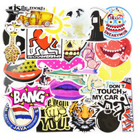 Wholesale Car Nature - Diy stickers posters wall stickers for kids rooms home decor sticker on laptop skateboard luggage wall decals car sticker 10pcs