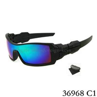 Wholesale Wind Goggles - 1PCS New Fashion Colorful Popular Wind Cycling Mirror Sport Outdoor Eyewear Goggles Sunglasses For Women Men Sunglasses with case.