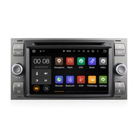 Wholesale Multimedia Car Ford - Android 5.1 Car DVD Radio Player Multimedia System RK3188 With Wifi DAB CanBus for Ford C-Max S-Max Kuga Fiesta Transit From 2005