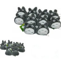 Wholesale PCMOS New pc My Neighbor Totoro Anime Studio Ghibli Pendant Keyring Plush Toy Doll Arcade Prizes