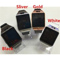 Wholesale cell phones for kids - smart watches DZ09 Bluetooth Smart Watch With SIM Card Slot For Apple Samsung IOS Android Cell phone inch smartwatch pk gt08