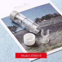 Wholesale Cute Cheap Cases - Eyeglasses Case JD6010 cute mini Contact Lens Easy Carry Case Travel Kit Plastic Contact Lens cheap Cases L + R Marked