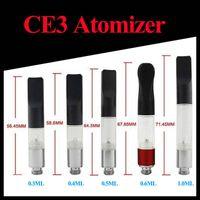 Wholesale E Ciagrette - CE3 BUD Touch O-pen Atomizer Vaporizer E Ciagrette 510 Cartridge CE3 Vapor Pen WAX Tank Oil Clearomizer 0.5ml 0.6ml