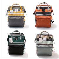 Wholesale Waterproof Rucksack Laptop - Brand Backpacks Fashion Desinger Hangbags Outdoor Travel Bags Waterproof Shoulder Bags Campus Stripe Rucksack Laptop Bags Organizer B2885