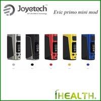 Wholesale Mini Oled - Original Joyetech eVic Primo Mini TC MOD W O Battery 80w 1.3 inch OLED display and a new easy-to-go interface