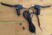 elektroroller wasserdicht großhandel-aluminium bremshebel brakehandle elektronische bremse für elektrofahrrad roller mtb moped dreirad wuxing roller teile wasserdicht