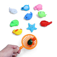 Wholesale toddler beach toys online - Bathing Shower Toy Beach Swimming Playing Toys For Kids Baby Toddlers Underwater Bubbles BathToys Colorful Various Size