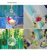 Wholesale Unique Birthday Cakes - Unique Design Clear Acrylic Hanging Ball Fashion Shiny Wedding Christmas Decoration Balls New Arrival Free Shipping