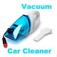 Wholesale Hand Car Vacuum Cleaner - Vaccum Cleaners Portable Super Suction 12V High Power Wet and Dry Mini Handheld Car Vacuum Cleaner #taobao222#