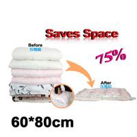 Wholesale Hanging Vacuum Space Bag - New Arrival 60*80cm Storage Bag Space Saver Premium Vacuum Compressed