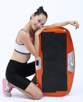 Wholesale 3 in dual motor cardio exercise weight loss vibration plate with ultra thin design body shaper power slimmer with oscillation type