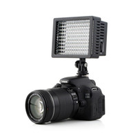 Wholesale Led Lights Panel Video - 160 LED Video Light Lamp Panel Dimmable for DSLR Camera DV Camcorder led flashi heads light