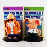 Wholesale Master Roshi Figure - Anime Dragon Ball Master Roshi Oolong PVC Action Figure Collectable Model Toy for kids gift free shipping retail