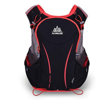 Wholesale Backpack For Water Bag - New 5L Women Men Marathon Hydration Vest Pack For 1.5L Water Bag Cycling Hiking Bag Outdoor Sport Running Backpack Free Shipping