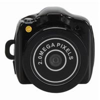 Wholesale button pinhole camera - 16GB memory built-in Pocket DV Smallest Camera Pinhole Mini Camera pin size smallest keychain mini button size camera PQ150