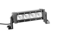 Wholesale Auto 4wd - 8 Inch 40W Led Light Bar Flood Work Light 4WD ATV Off-road Driving Lamp auto led light