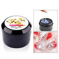 Wholesale Nail Art Adhesive Glue - New Nail Art Gel Glue Nail Decorations Beads Sequins Rhinestones Adhesive Liquid UV Gel Nail Art Polish Glue Manicure DIY 2017