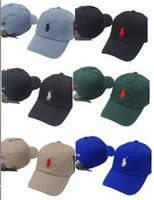 Wholesale Hip Hop Flat Caps - 2017 New Style bone Curved visor Casquette baseball Cap women gorras Bear dad polo hats for men hip hop Snapback Caps High quality
