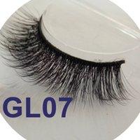 Wholesale Wholesale Silk Fiber - 100% handmade real silk fiber false eyelash 3D stripe Eyelashes Cute Lash Makeup Beauty free shipping