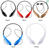 Wholesale Iphone Headphones For Sale - Factory Sales HBS-800 Stereo Sports Bluetooth Headset Earphone Wireless Headphone for LG Iphone 6 samsung + retail package