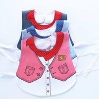 Wholesale Baby Sculpt - Wholesale- Bibs For Babies, Boys Girls,baby Wear,saliva Waterproof Saliva Towel Plus-size Bang Sculpt