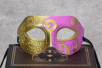 Wholesale Mask Painting Butterfly - Halloween Costume Party, Princess Party Mask, butterfly eye mask, Prince half face, hard plastic spray paint, Party Mask