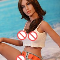Wholesale Japanese Made Sex Dolls - TPE Silicone Sex Robot Sex Dolls with Big Hip Big Boobs Tan Skin Europrean Face for Adult Love Dolls Chinese Manufacture Made