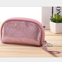 Wholesale Waterproof Promotional Bags - MB-20 High quality promotional wholesale fashion waterproof shiny lady evening bag cosmetic makeup bag free shipping