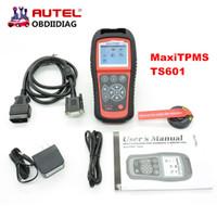 Wholesale Distributor Usb - AUTEL Distributor TPMS Diagnostic &Service Tool TS601 Autel MaxiTPMS TS-601 Update Online Autel TS601 OBD2 Code Scanner