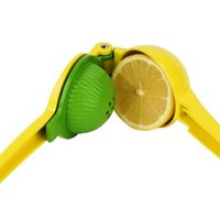 Wholesale Citrus Hand Press - Manual Juicer Lemon Lime Squeezer 2in1 Manual Hand Held Juicer Orange Citrus Fruit Juice Press GJD0010