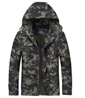 Wholesale Slim Military Jackets For Men - camo spring jackets for men m65 hooded camouflage military army jacket coat casaco masculino jaqueta masculina tactical
