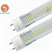 Wholesale Leds T8 - LED Tube T8 28W 4ft 288 leds double rows replace 50W fluorescent bulb 4 feet AC85-265V UL CE FCC CSA 50+