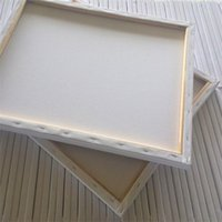 Wholesale Wholesale Painting Frame Canvas - Multi Specification Frame Pure Cotton Canvas Oil Picture Frames Practice Drawing Customized High Quality Graffiti Art Paint Popular 5wx6 H R