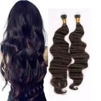 "Wholesale Brazilian I Tip Hair - Resika Body Wave Brazilian remy i tip hair Extensios Brazilian virgin hair fashion festival hair extensions 16""-22"" free shipping"