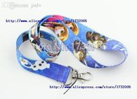 Others blue cellos - New Popular Princess Blue Cello Phone Lanyards Neck Strap Keys Camera ID Card Lanyard LM0161