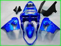 Wholesale Kawasaki Zx9r Price - Lower price bodywork fairing kit for Kawasaki Ninja ZX9R 98 99 blue motorcycle fairings set ZX9R 1998 1999 TY50