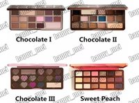 Wholesale chocolate bar makeup palette for sale - Group buy Factory Direct DHL New Makeup Eyes Chocolate Bar Sweet Bon Bons Semisweet Sweet Peach Eyeshadow Palette Different Colors
