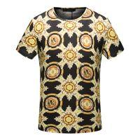 Wholesale Ufo Shirt - Christian religion summer design UFO French men's T-shirt fashion brand high quality hip hop 100% cotton T-shirt free shipping Medusa #44046
