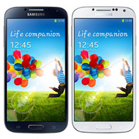 Wholesale Galaxy S4 Smart Phones - Refurbished Original Samsung Galaxy S4 i9500 i9505 5.0 inch HD Quad Core 1.9GHz Wifi 3G 4G Unlocked Smart Phone Original Battery DHL 1pcs