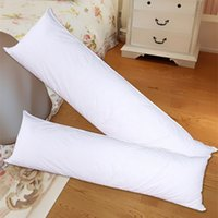 Atacado- 50x150cm Almofadas Anime Almofada Interior Inner Body Almofadas Abraçando Pillow Inner Body PP Cotton Filler Suave corpo longo Pillow Core