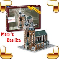 3D st building - New DIY Gift St Mark s Basilica D Puzzle Model Building Basilica Model Education Toys Puzzle Learning Game DIY Built Up