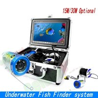 "Wholesale Underwater Video - SY700 7"" Color LCD Fish Finder HD 1000TVL Waterproof Video Underwater Camera 15m 30m Professional Underwater Fishing camera ann"