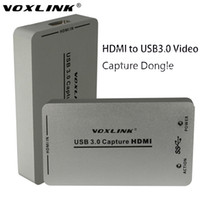 Wholesale video capture box - Freeshipping USB3.0 USB2.0 HDMI Capture Dongle 1080P 60FPS UAC UVC HDCP Audio Video HDMI Capture Dongle USB Capture For Linux Windows