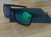 Wholesale new orange pc - New Polaroid Sunglasses Fashion men Sunglasses holbrook sports sunglasses metal frames 4132 Cycling Travelling Goggles free ship