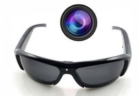 Wholesale Electronic Sunglasses - HD 1080P Camcorder SunGlasses Camera Digital Eyewear Video Recorder Free Shipping Drop Shipping